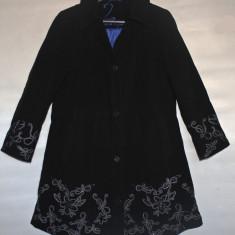Palton/Pardesiu,absolut superb,brodat,UllaPopken,impecabil,marime maree