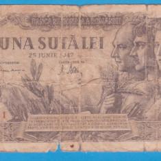 (14) BANCNOTA ROMANIA - 100 LEI 1947 (25 IUNIE 1947)