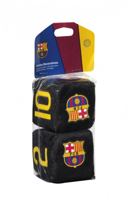 Zaruri ornamentale FC Barcelona 7x7cm Ornament Oglinda