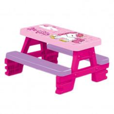 Masuta de picnic Dolu Unicorn, poate sustine pana la 4 copii