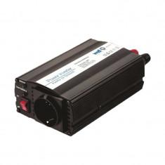 Invertor de tensiune Well, 24V-220V, 600 W, USB