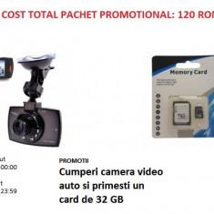 Promotii Cumperi Camera Video Auto si primest gratuit Card 32 GB
