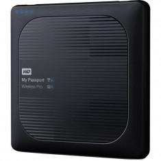 Hard disk extern WD My Passport Wireless Pro 4TB USB 3.0 Black