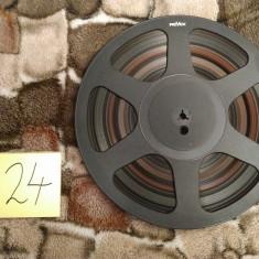 24.Banda Magnetofon REVOX rola policarb.26cm-Black (Akai,Teac,Tascam,Agfa,BASF)