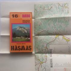 Colectia Muntii Nostri - Hasmas (cu harta)