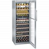 Vitrina frigorifica Liebherr Premium WTes 5972, 526 l, 10 rafturi, Inox