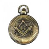 Cumpara ieftin Ceas de buzunar masonic - Culoare Bronz - MM895