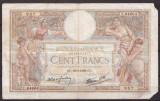 Franta 1939(16-2) - 100 francs, circulata