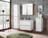 Set Mobilier pentru baie, 5 piese, Capri White XL