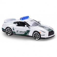 Masinuta Politie Dubai Nissan GTR, Scara 1:64