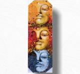 Tablou 3 Faces Buddha Tip 2, L
