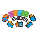 Joc de logica STEM Super labirintul, 20 de piese tip covoras, 20 de carduri, 5 - 9 ani