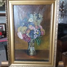 Tablou ulei pe panza  - Flori de camp, Realism