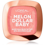 L'Oréal Paris Wake Up & Glow Melon Dollar Baby blush pentru toate tipurile de ten