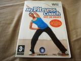 Joc My Fitness Coach Get in Shape, wii, original, alte sute de titluri