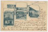 4322 - SATU-MARE, Maramures, Romania, Litho - old postcard - used - 1900