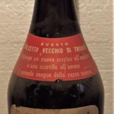 A41- VIN dolcetto uva scelta dalla vigna di trionzo, recoltare 1970 cl 72 gr 13