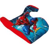 Inaltator Auto Spiderman Disney, husa detasabila, 15 - 36 kg, Albastru/Rosu