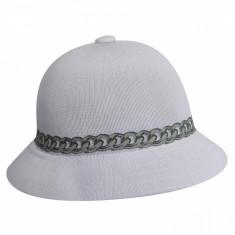 Palarie alba Kangol Chain Casual (Masura : S,M,L)  - Cod 7878514855472