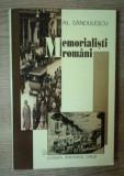 Memorialisti români / Al. Sandulescu