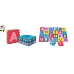 Covoras de joaca cu litere Puzzle 26 piese BabyGo