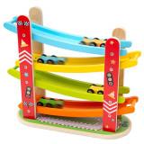 Rampa etajata - Cursa masinutelor PlayLearn Toys, Bigjigs