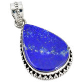Cumpara ieftin Pandantiv bijuterie din argint 925 cu lapis lazuli