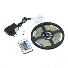 Banda LED cu telecomanda si 300 leduri,lungime 5 m