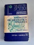GEORGIANA GALATEANU - EXERCITII DE GRAMATICA ENGLEZA-Timpurile verbale