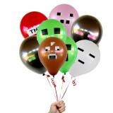 SET 21 baloane Minecraft Baloane petrecere copii - Party balloons