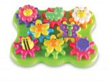 Set rotite - Gradina cu flori PlayLearn Toys