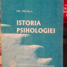 Istoria psihologiei – Gr. Nicola