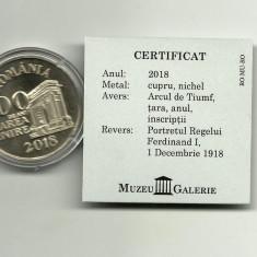 Romania - 100 de ani Marea Unire 2018 - MEDALIE