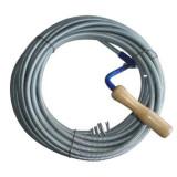 Cablu (sarpe) spirala pentru desfundat tevi de scurgere, Strend Pro KPZ20, lungime 20 m, cap 2.5cm Mania Tools