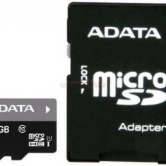 Card A-DATA Premier microSDHC 16GB, Class 10 + adaptor SD