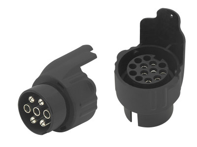 Priza Remorca Auto cu Adaptor Inclus pentru 7 sau 13 Pini foto