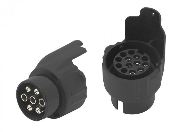 Priza Remorca Auto cu Adaptor Inclus pentru 7 sau 13 Pini