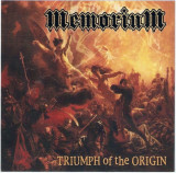 CD Memorium – Triumph Of The Origin, original, rock