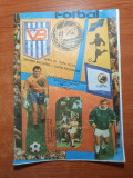 Revista echipei de fotbal victoria bucuresti noiembrie 1988-cupa uefa
