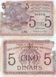 1919, 20 kron 5 dinara (P-16a) - Iugoslavia