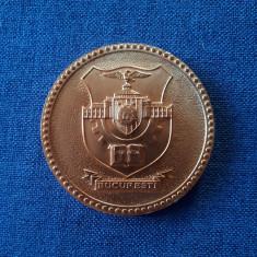 Medalie stema Bucuresti - Consiliul popular al municipiului - heraldica