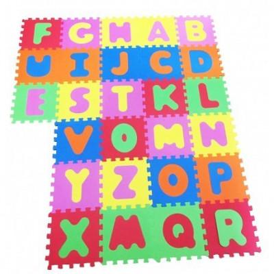 Covor puzzle din spuma Alphabet 26 piese foto