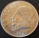 Moneda EXOTICA 1 PESO - MEXIC, anul 1971  *cod 774 - UNC