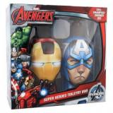 Set ingrijire par Avengers Iron Man Shampoo 300ml & Captain America Shampoo 300ml