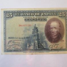 Spania 25 Pesetas 1928