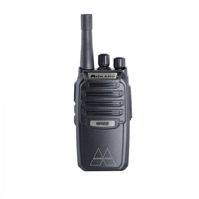 Resigilat : Statie radio PMR portabila Midland BR02 Cod C1292