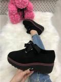 Pantofi adidasi dama negri cu platforma marime  38, 39, 40+CADOU