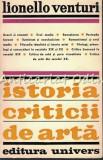 Cumpara ieftin Istoria Criticii De Arta - Lionello Venturi