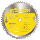 Cumpara ieftin Disc pentru fierastrau circular, taiere inox Evolution EVO90BLADE-0521, O355 x 25.4 mm, 90 dinti