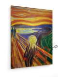Tablou pe panza (canvas) - Edvard Munch - The Scream 2 - 1893